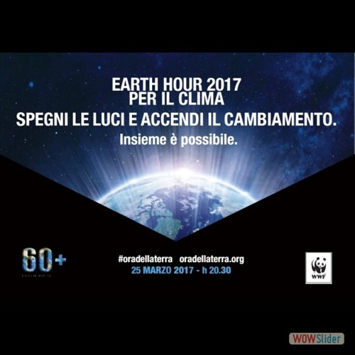 Earth Hour 2017 Liceo Artistico Caserta
